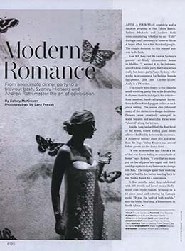 C MAGAZINE – A MODERN ROMANCE
