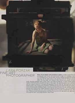 LA TIMES – LARA PORZAK FINE-ART PHOTOGRAPHER
