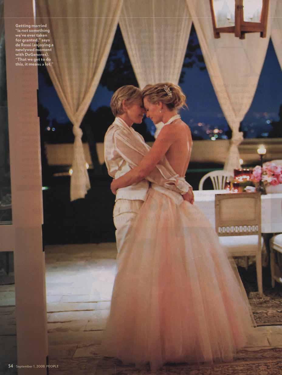 ELLEN AND PORTIA'S WEDDING (VIDEO)